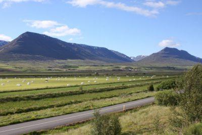 Áætlað er að leggja hjólreiðastíg milli Akureyrar og Hrafnagilshverfis. Mynd: www.esveit.is