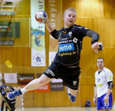 Andri Snær fór á kostum í dag.