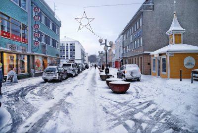 Göngugatan á Akureyri