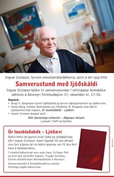 Ingvar Gíslason.