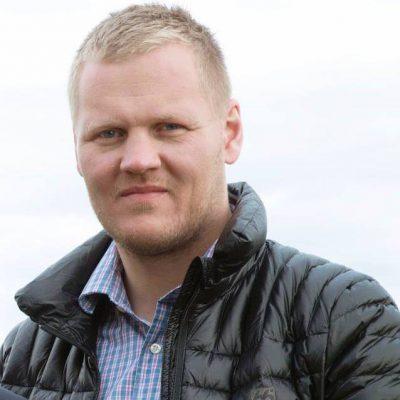 Guðmundur Ómarsson er einn þeirra sem standa að verkefninu