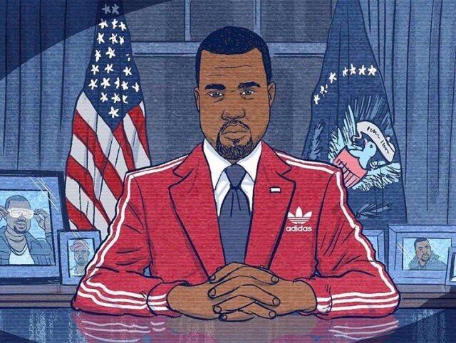 Kanye West bjargar okkur árið 2020