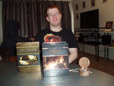 Rúnar segist vera mikill Lord of the Rings nördi