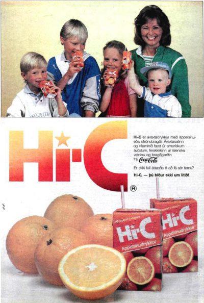 Allir voru sólgnir í Hi-C