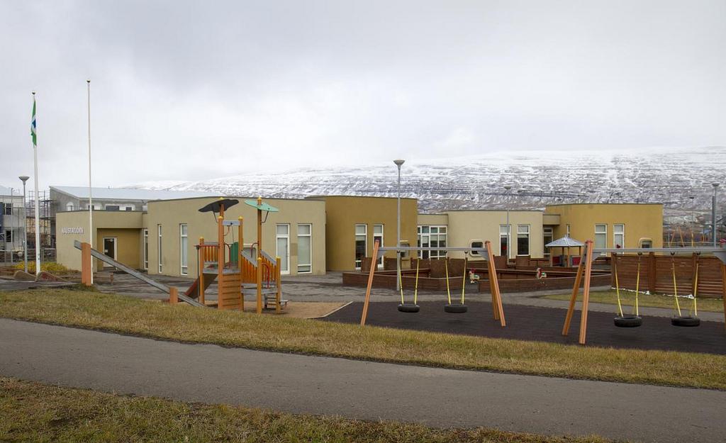 Tvö börn struku af leikskóla á Akureyri