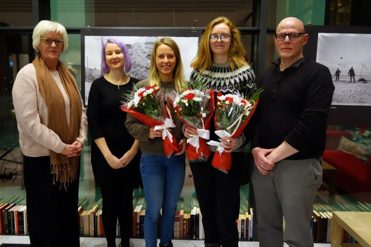 Anna Kristjana er Ungskáld Akureyrar 2018