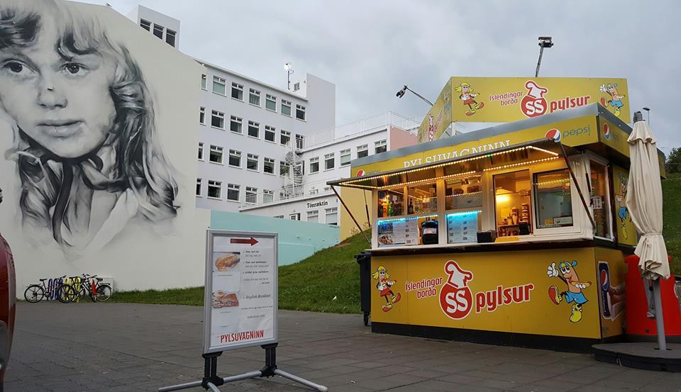 Stórkostleg auglýsing fyrir Pylsuvagninn á Akureyri – Myndband