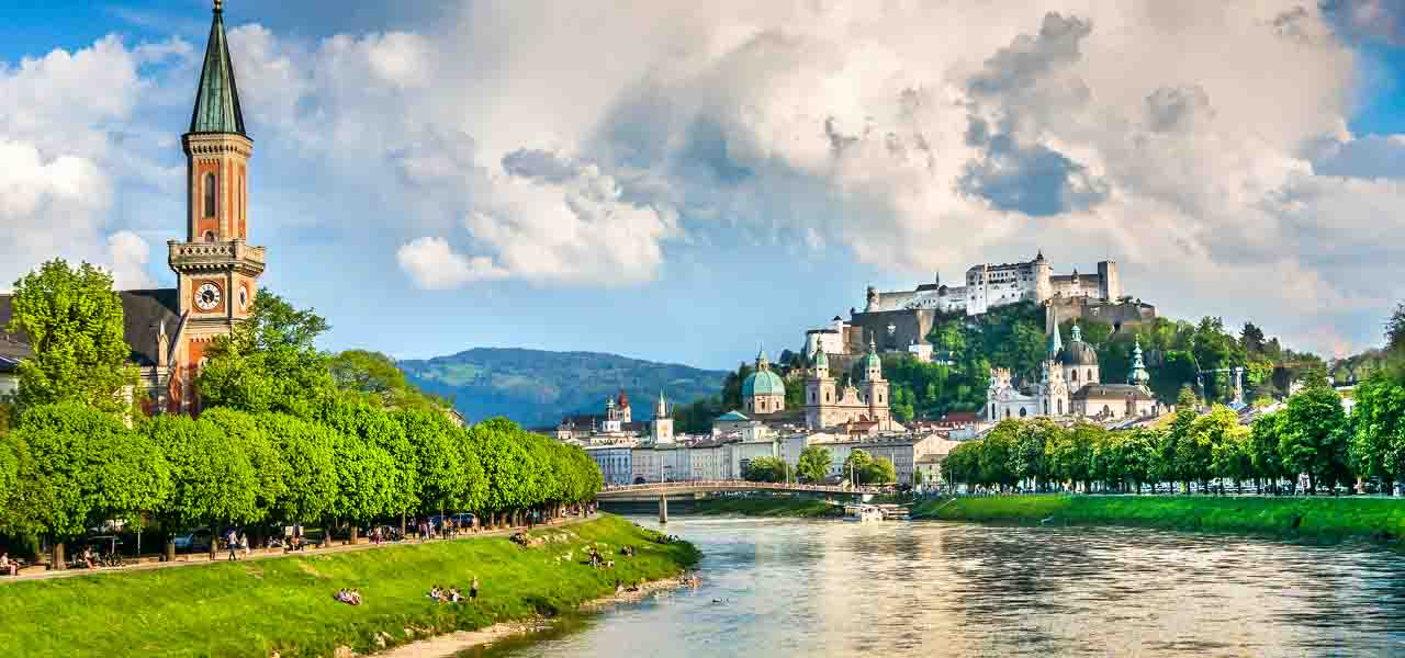 Borgin mín – Salzburg
