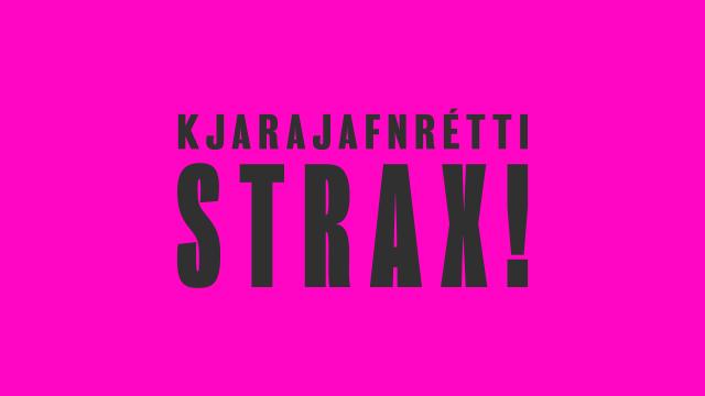 Akureyrarbær og Jafnréttisstofa funda í hádeginu í dag um launajafnréttismál
