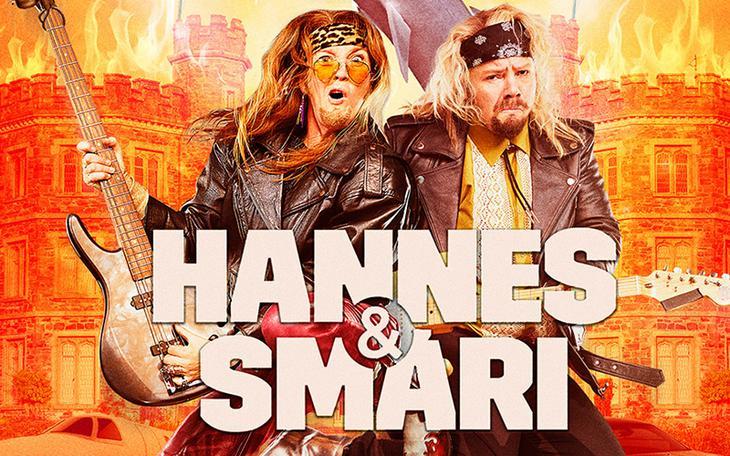 Hannes og Smári mæta norður