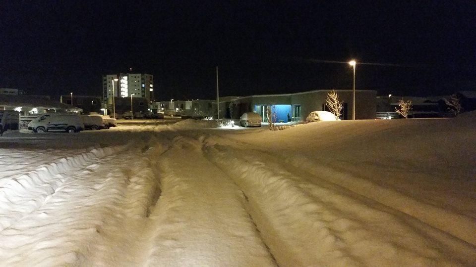 Stefna að minni snjómokstri og spara um 50 milljónir króna