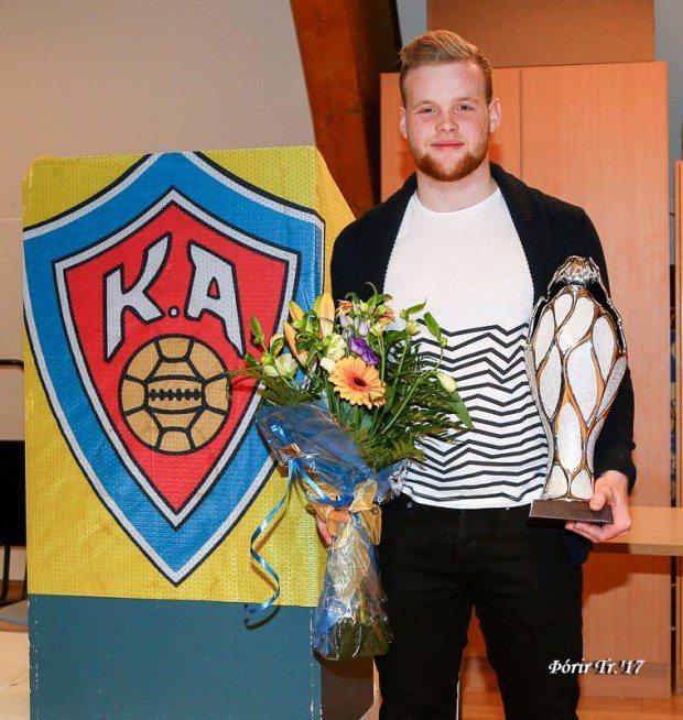Valþór Ingi íþróttamaður KA árið 2016