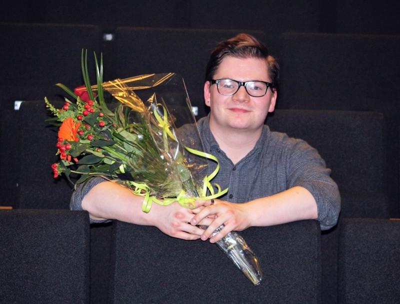Sindri Snær Konráðsson sigraði Sturtuhausinn 2017