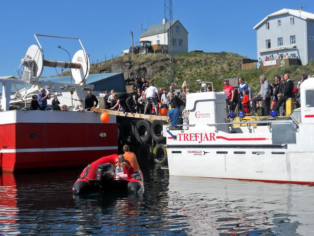 Borgarhöfði í Grímsey selt – 15 missa vinnuna