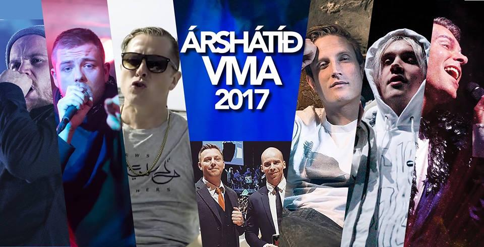 9 listamenn koma fram á árshátíð VMA en engin kona