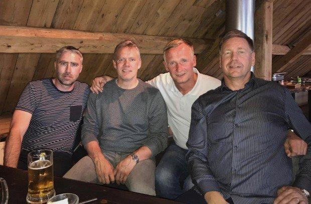 Andrius Stelmokas í heimsókn á Akureyri