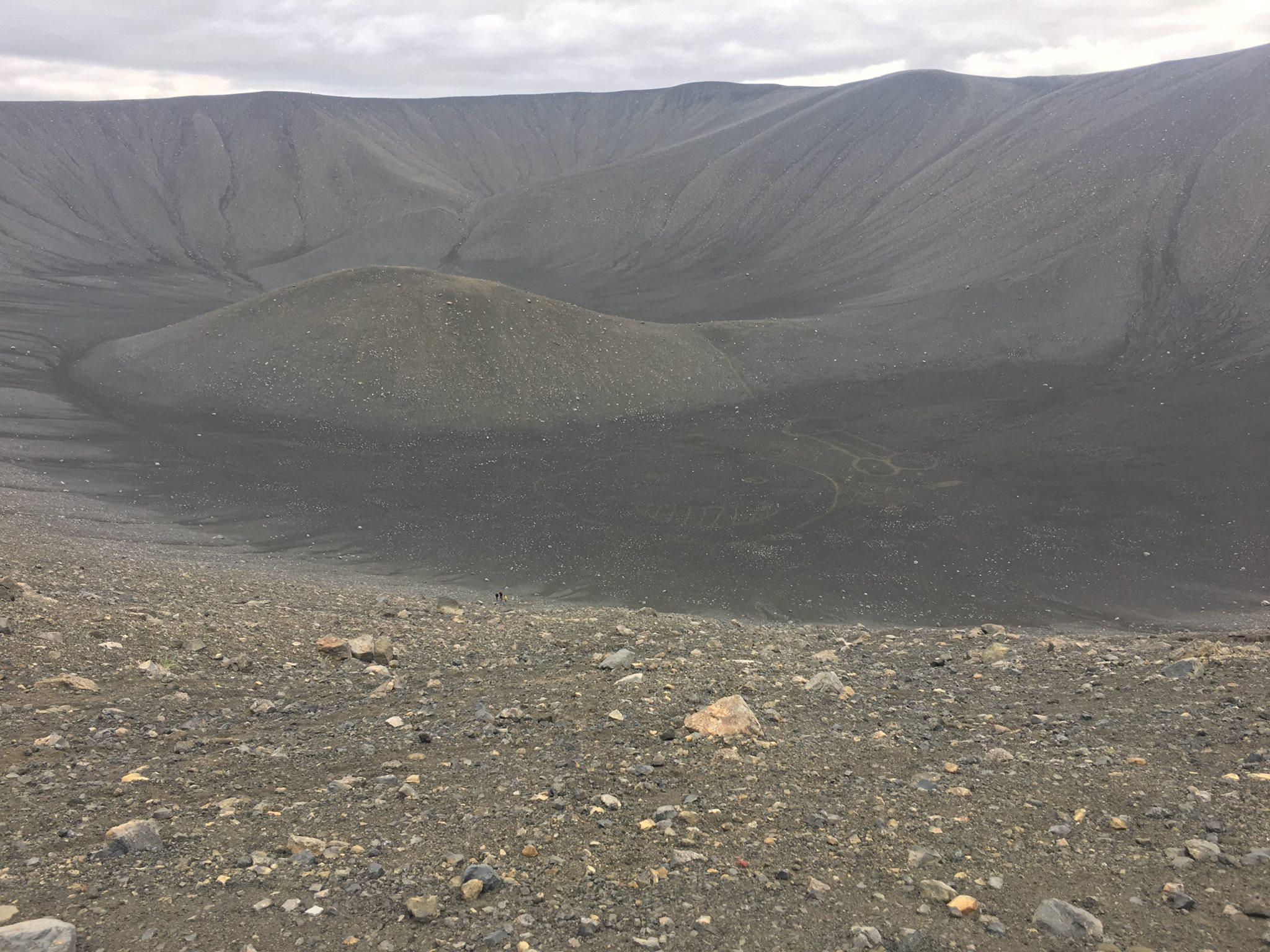 Afmáðu getnaðarlim við gíg Hverfjalls