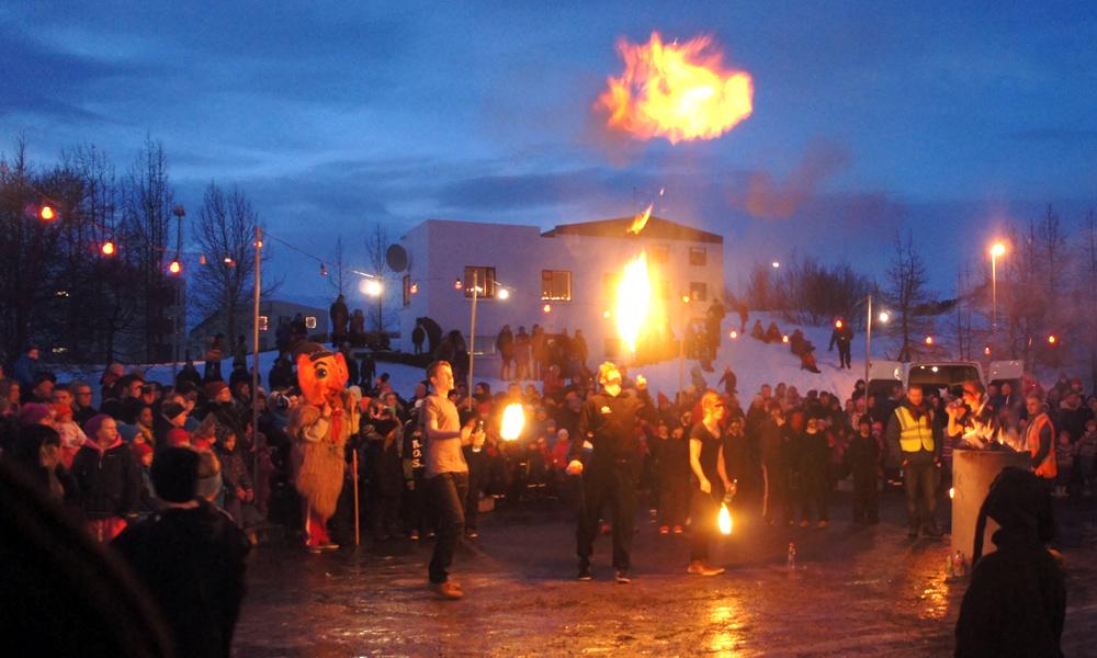 Árlega þrettándagleðin 6.janúar