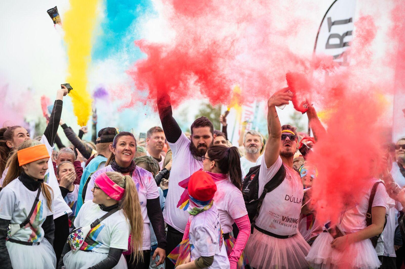 The Color Run á Akureyri 1. ágúst