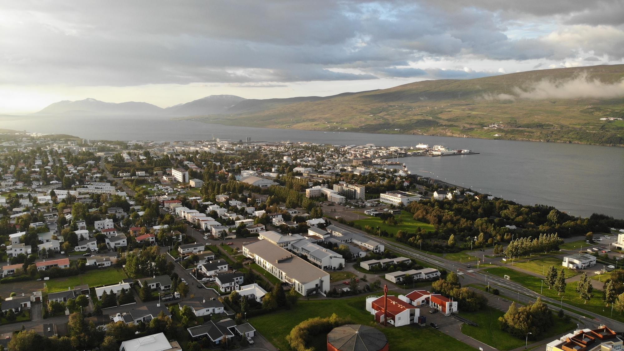 Íbúar Akureyrar orðnir 19 þúsund