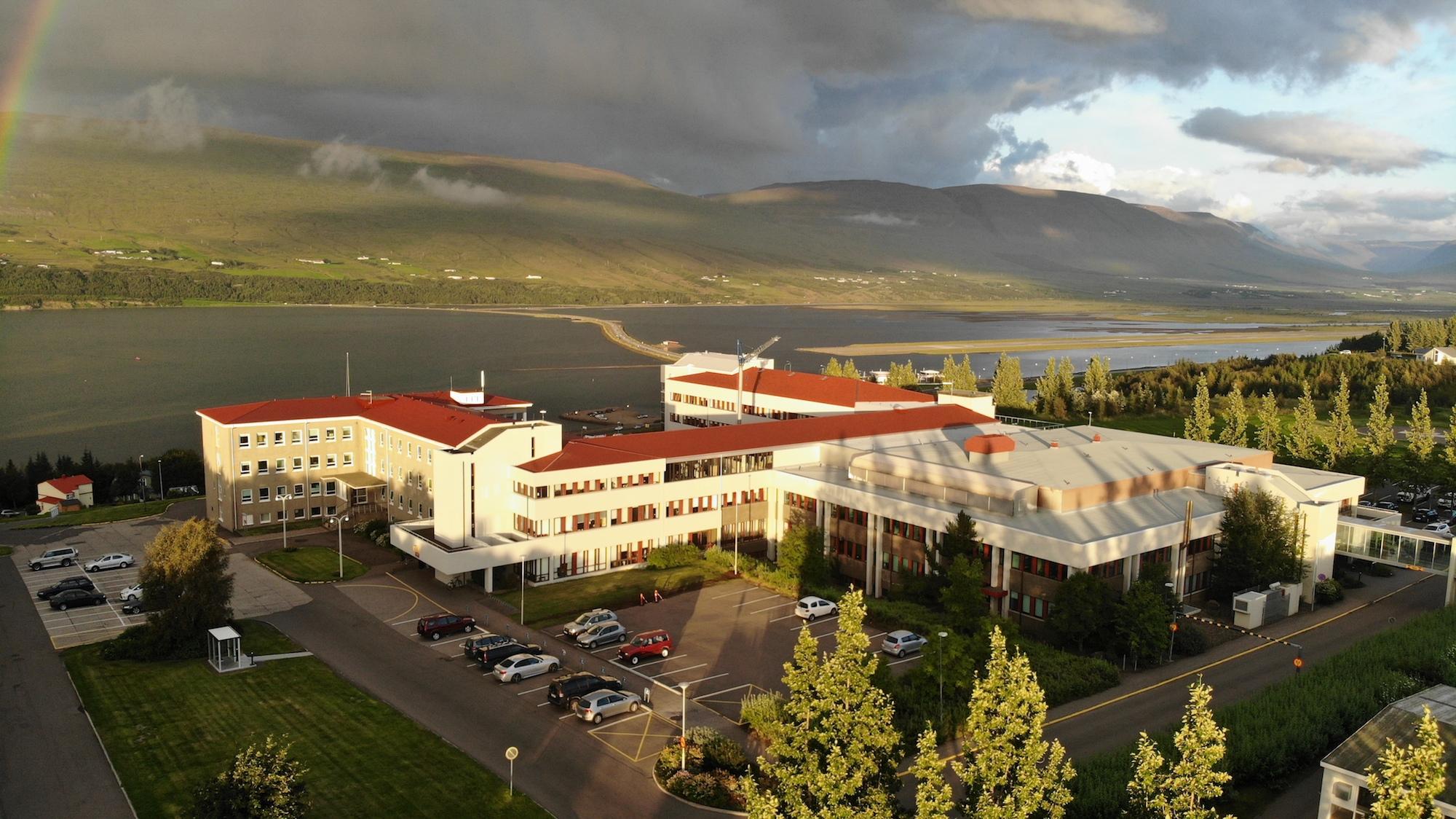 Rafmagnslaust varð á hluta Akureyrar í dag – sjúkrahúsið á varaafli