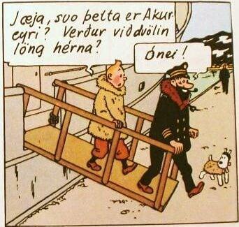 """Þegar Phostle, Braun og """"The Coctail Shaker"""" sigldu inn Eyjafjörð"""