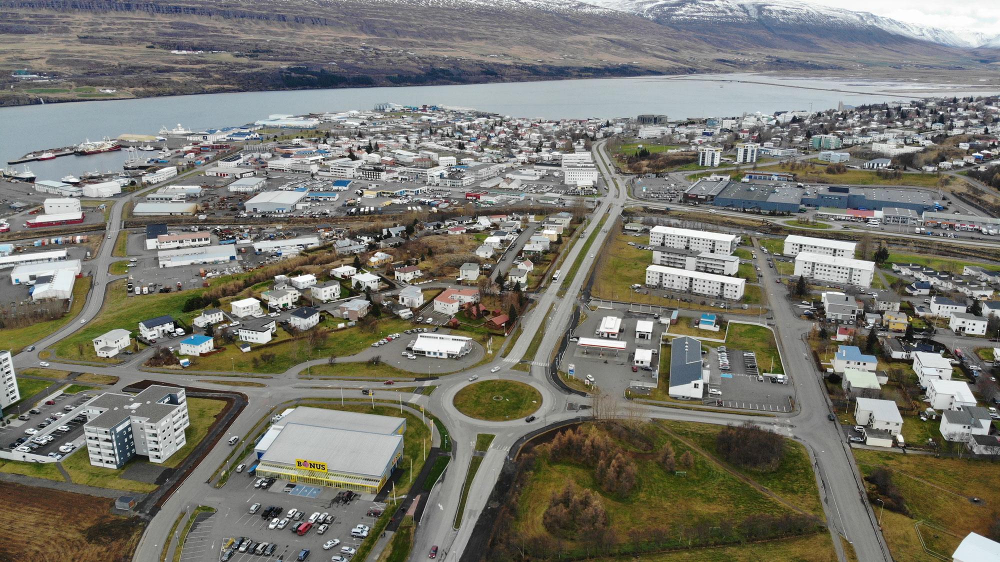 Hversu vel þekkir þú Akureyri ofan frá?