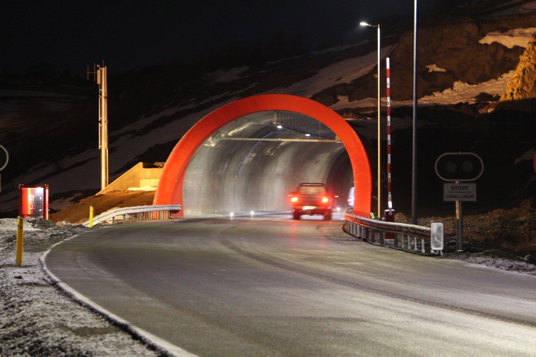 414 þúsund ferðir í gegnum Vaðlaheiðargöng árið 2020