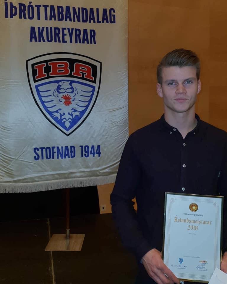 Einar Sigurðsson íþróttamaður KKA í sjötta skiptið