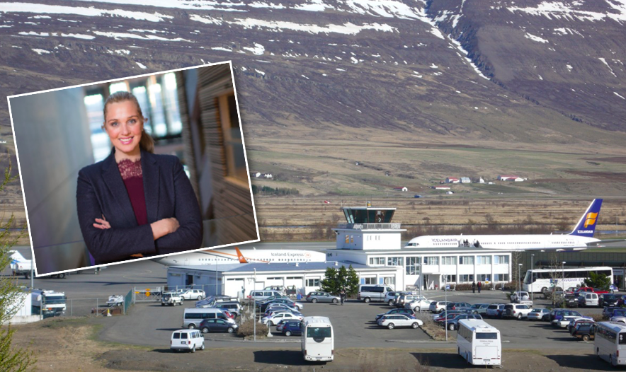Segir uppbyggingu Akureyrarflugvallar mikilvæga