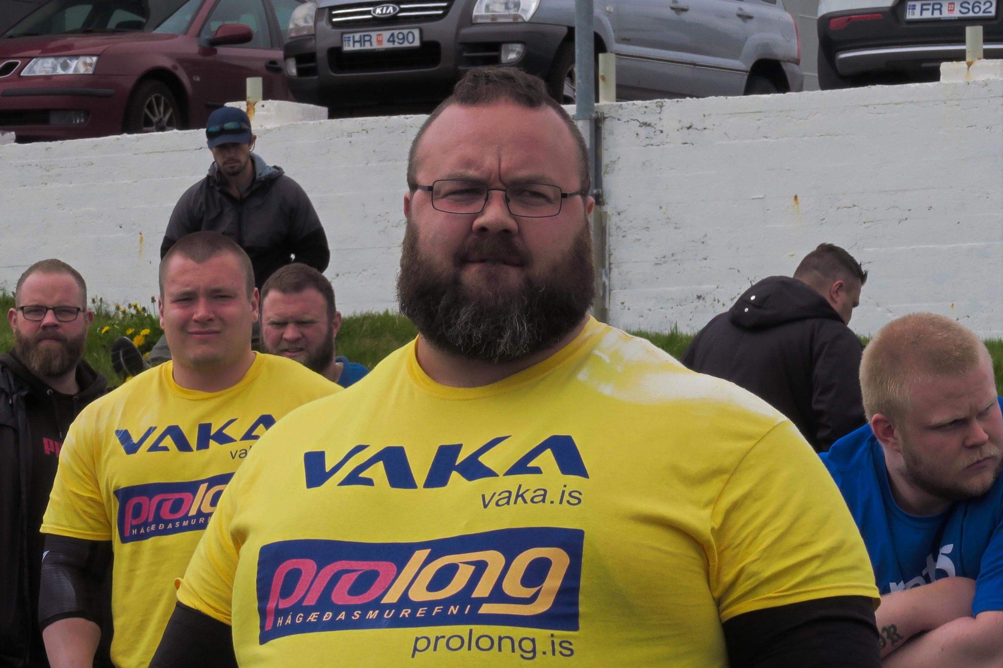 Sigfús Fossdal keppir í Sterkasti maður heims 2019