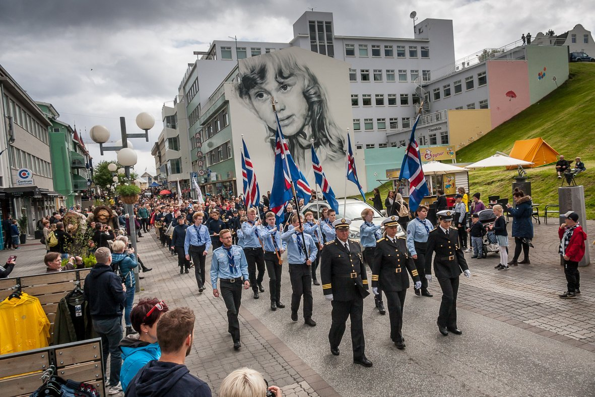 Fjölbreytt hátíðardagskrá á mánudaginn 17. júní