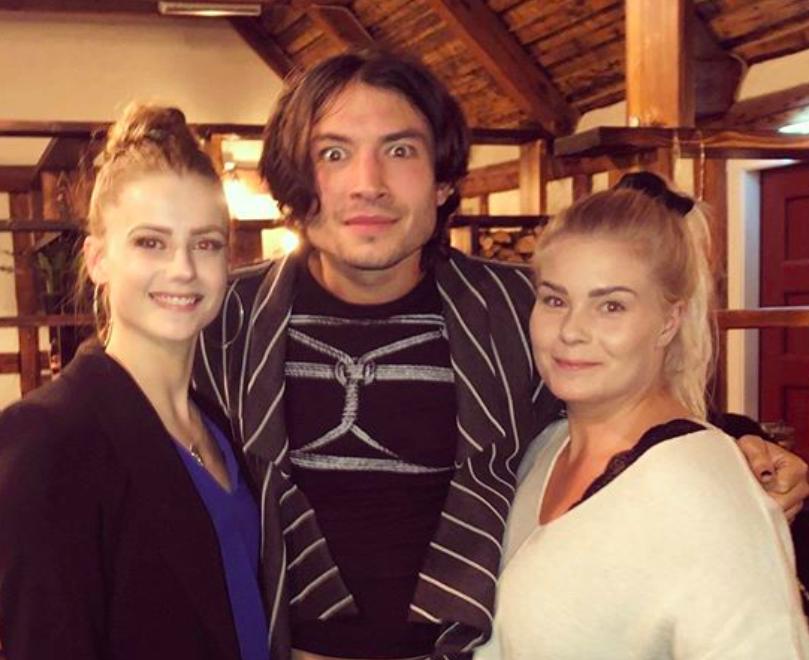 Ezra Miller á Akureyri