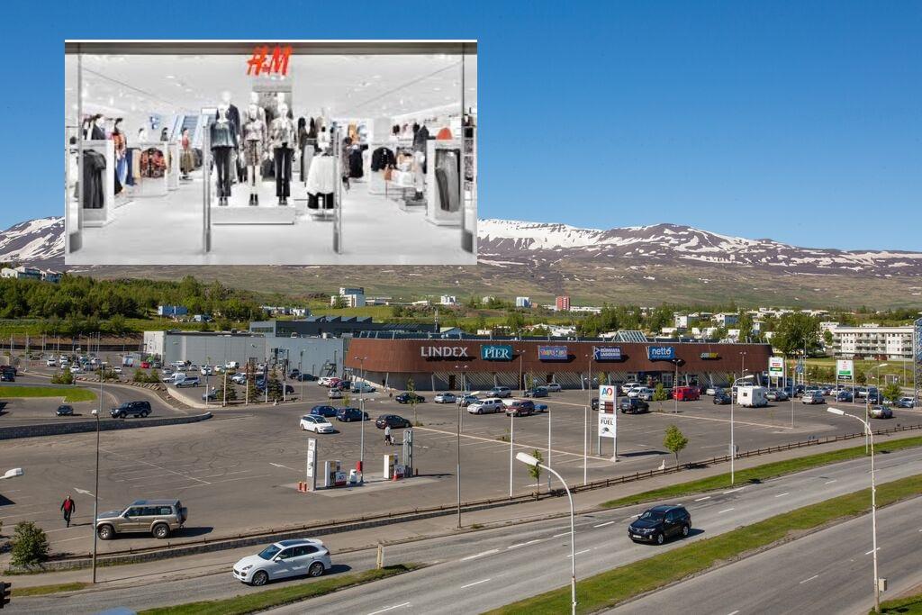 H&M opnar á Glerártorgi 3. september