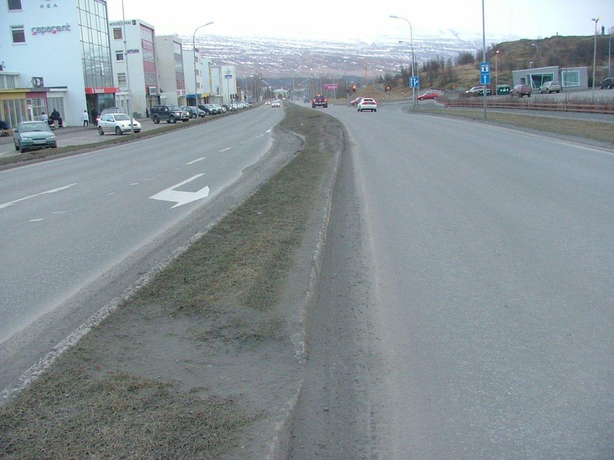 Varað við svifryksmengun á Akureyri
