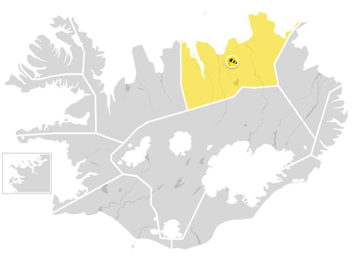 Gul viðvörun á Norðurlandi eystra