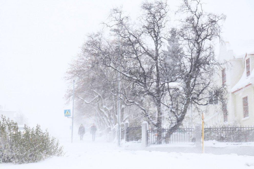 20 alhvítir dagar á Akureyri í janúar