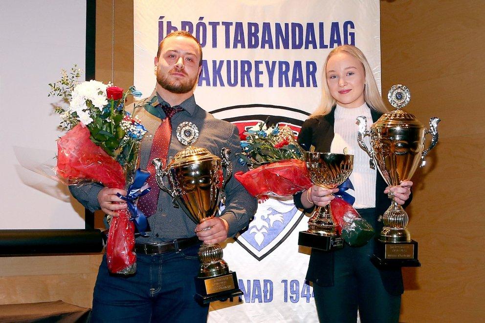 Aldís Kara og Viktor valin íþróttafólk Akureyrar 2019