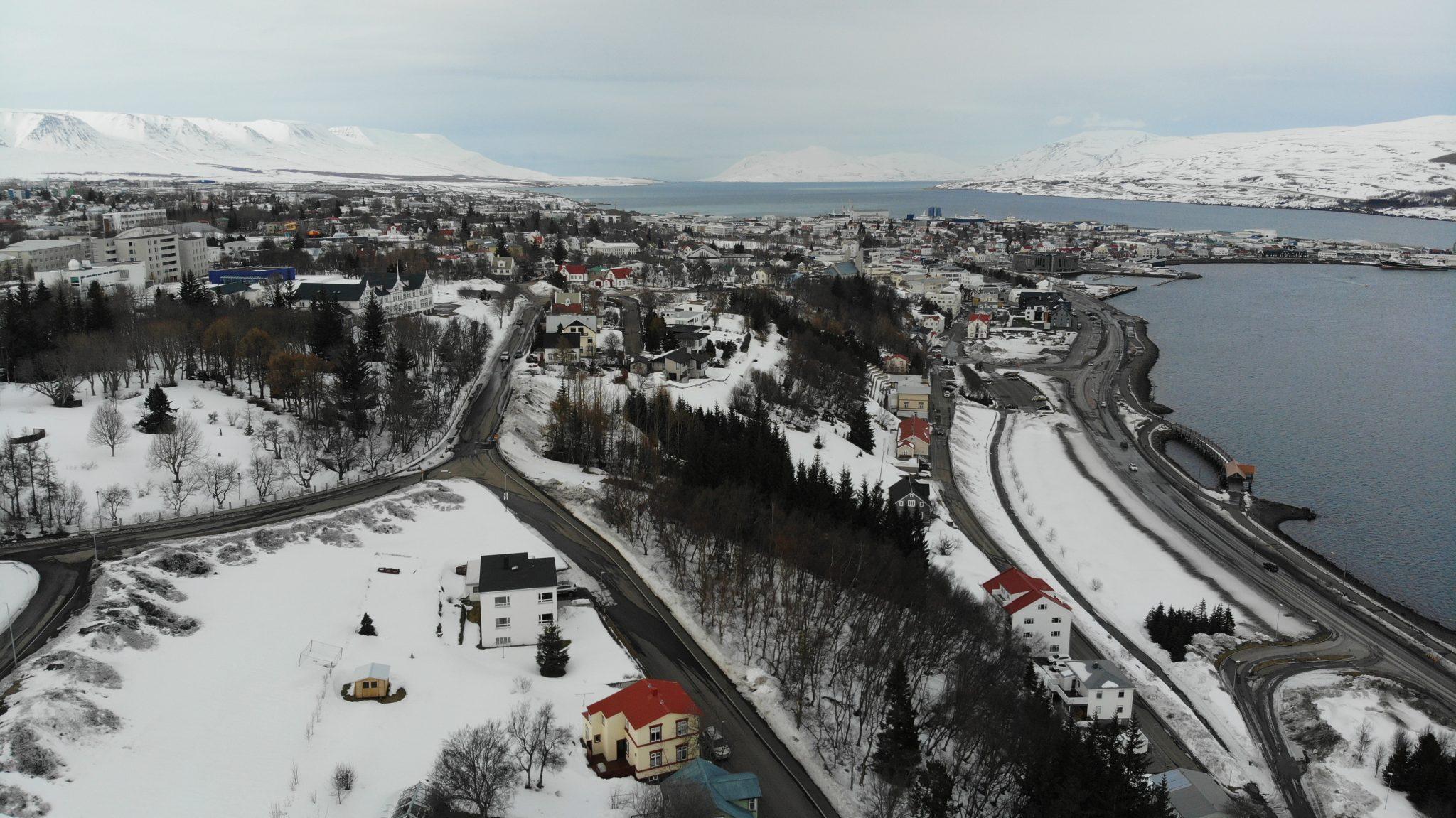 18 virk smit á Norðurlandi eystra