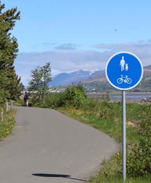 Nýtt stígakerfi Akureyrarbæjar