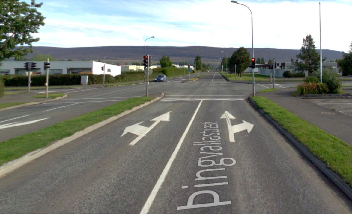 Endurnýjun umferðarljósa við Þingvallastræti og Skógarlund