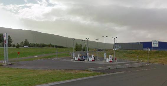 Akureyringar taka fagnandi á móti lægsta eldsneytisverði Atlantsolíu