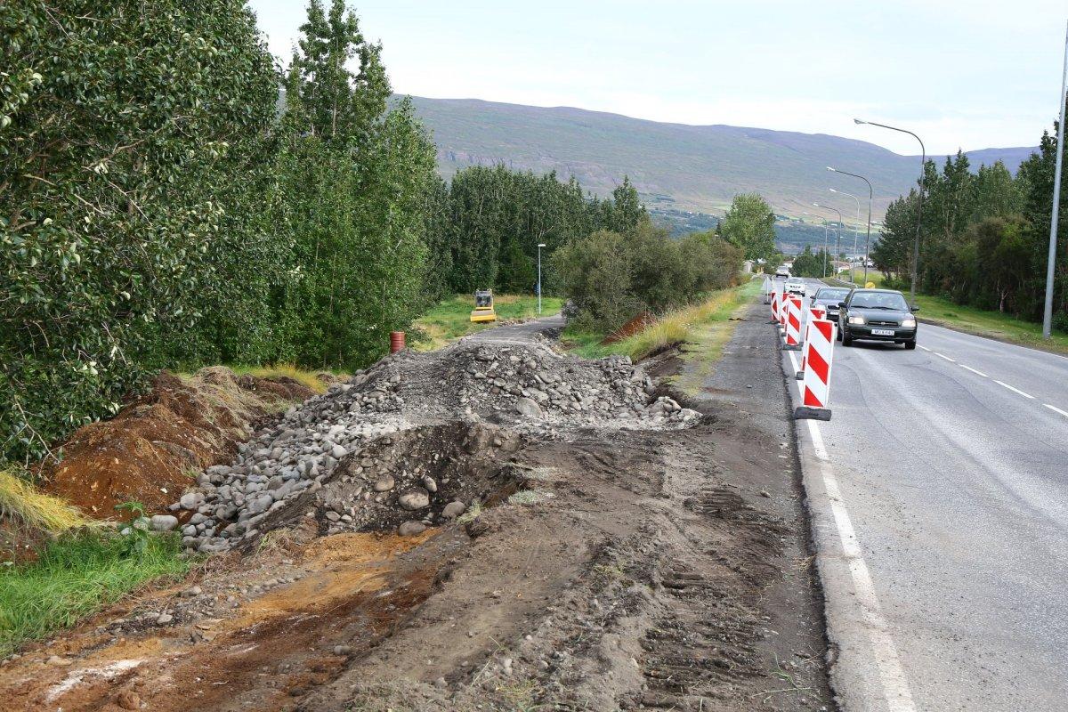 Nýir stígar á Akureyri marka tímamót