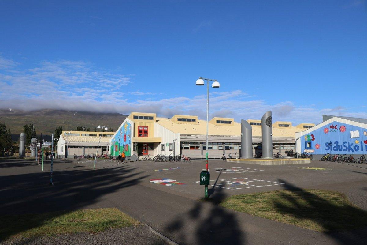 Smit í Síðuskóla á Akureyri