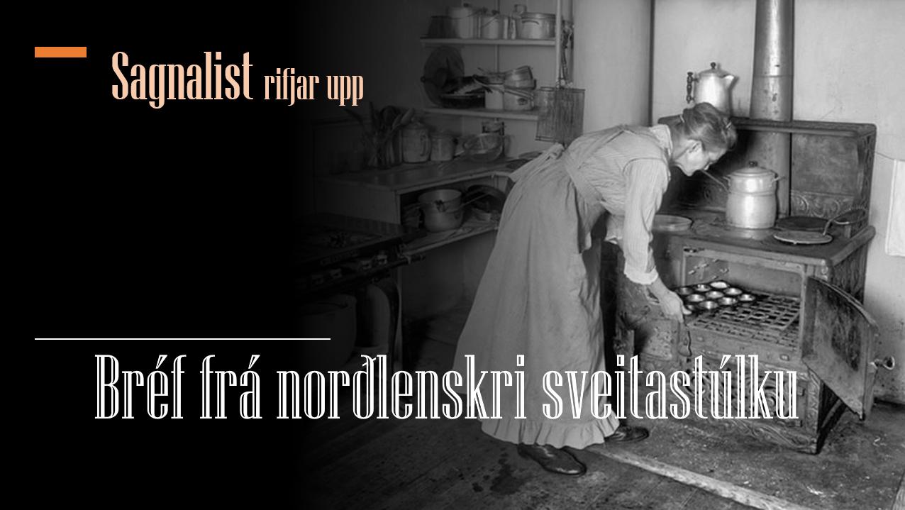 Bréf frá norðlenskri sveitastúlku