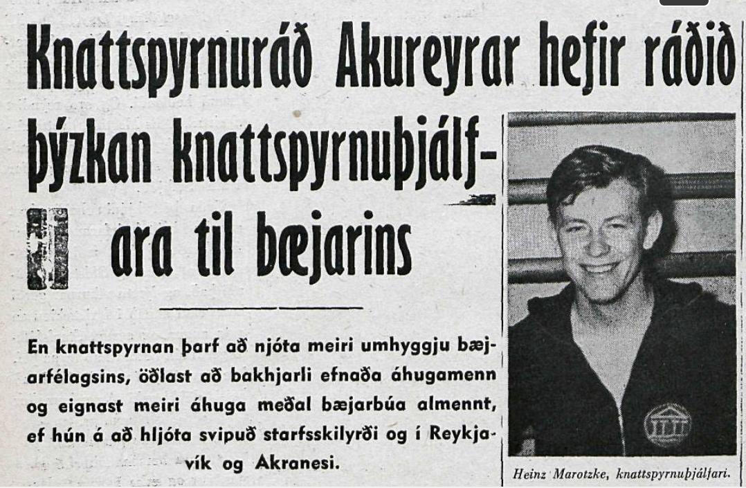 Tímamót í knattspyrnuþjálfun á Akureyri