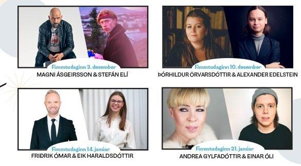 Kynslóðunum teflt saman í tónleikaröðinni Í HOFI & Heim