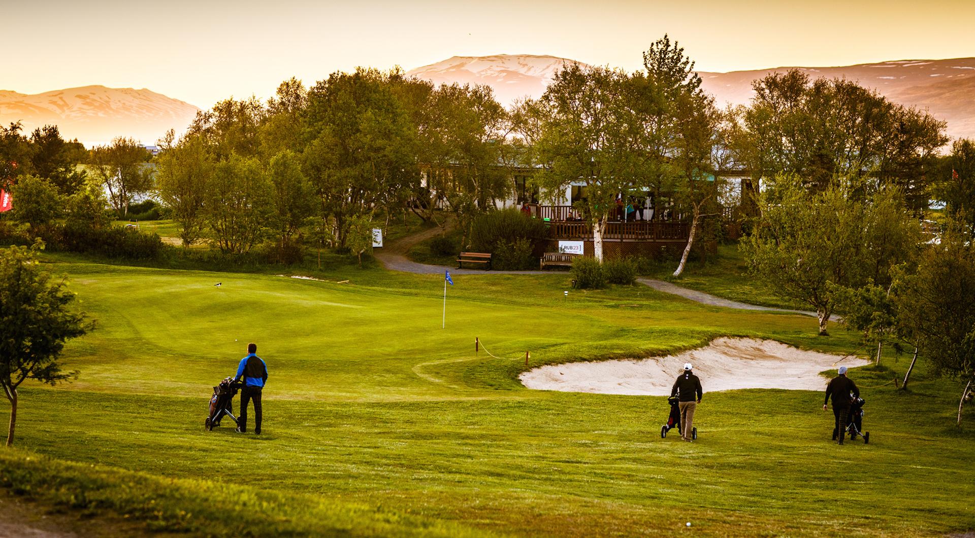 Áttu von á meiri vilja bæjarins gagnvart Íslandsmótinu í golfi