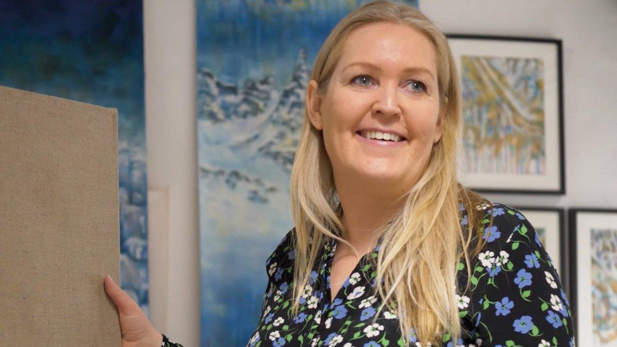 Dagrún Matthíasdóttir er bæjarlistamaður Akureyrar 2021