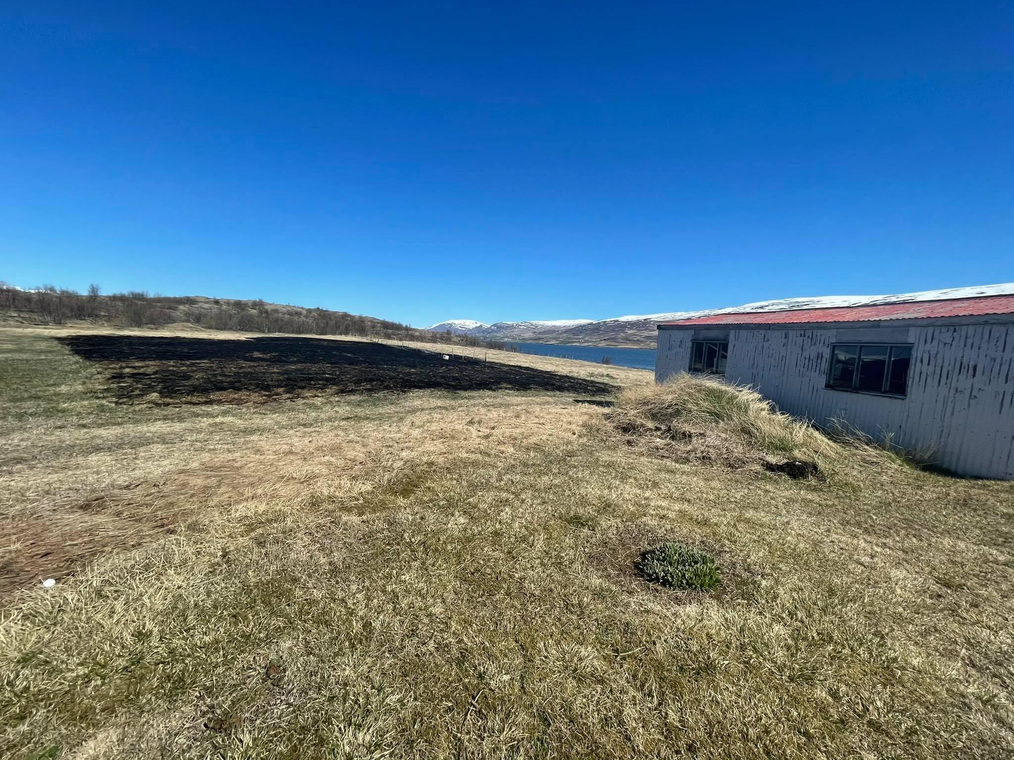 Sinubruni við Lundeyri á Akureyri